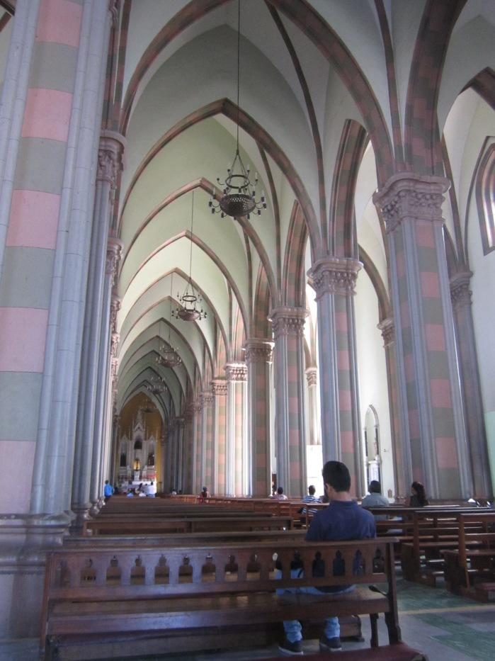 Inside La Catedral